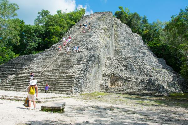 Coba - Nohuch Mul-Pyramide